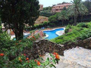 Traumhaftes Penthouse mit Meerblick, Golf und Tennis Region Marbella, Elviria