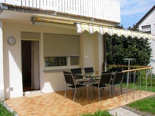 Neu eröffnete komfortable  Ferienwohnung mit toller Terrasse und Garten