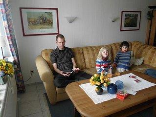 Liebevoll eingerichtete, familienfreundliche Ferienwohnung