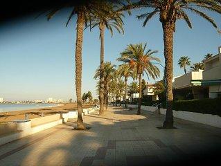 Ferienwohnung am Mar Menor mit Meerblick