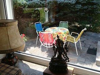 Ferienhaus mit Garten zentral gelegen