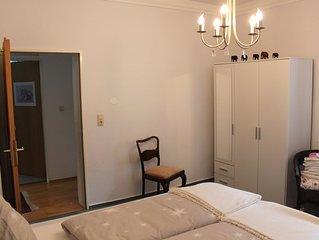 schones, ruhiges Apartment, grosse Sonnenterrasse, am Rheinsteig, Assmannshausen