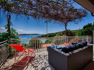 Striking and unique sea-view, romantic family holidays in untouched nature,