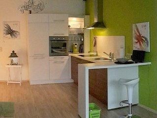 Moderner Komfort in unserer Ferienwohnung mit Sudbalkon fur 2-4 Personen, 60 qm