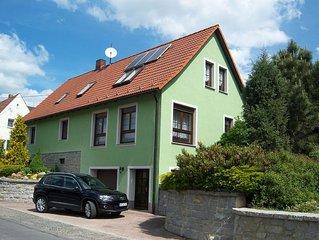 Geräumige Ferienwohnung 120qm mit 3 Schlafzimmern, Terrasse für 4 bis 7 Personen