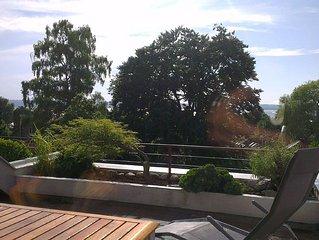 Appartment in Herrsching mit Terrasse und Ammerseeblick