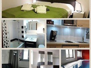 Modernes Apartment mit schönem Ausblick
