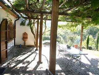 charming Tuscan country house, alone location, ju