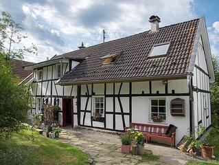 Wunderschones Ferienhaus im Landhausstil im Bergischen Land