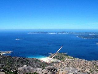 Mit traumhaftem Meerblick an der galicischen Kuste - in der Natur- entspannen