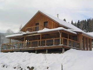 Ferienchalet in Nähe der Skigebiete Kreischberg,Katschberg u Obertauern