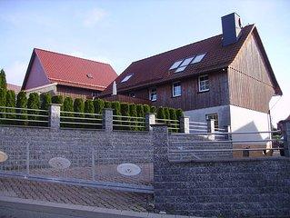 Ferienhaus im Oberharz mit Bio-Aussenpool und Sauna