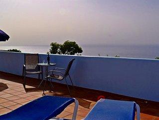 Ferienhaus mit Pool in guter Klimatzone