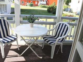 Gepflegte 2-Zimmerferienwohnung in Strandnahe mit Balkon, Fahrradern und Wama