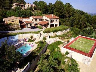 Grande maison entre Grasse et Fayence
