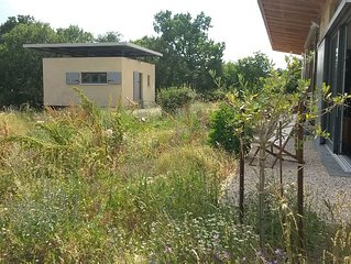 Architect house in the scrubland