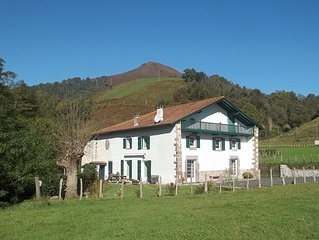 In the Basque Country: Spacious holiday home and