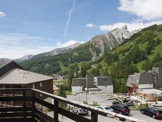 Mountain Studio 5 pers. + Terrace - La Foux d'All