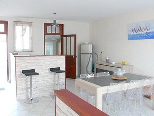 Single storey house, 5 minutes from the beach
