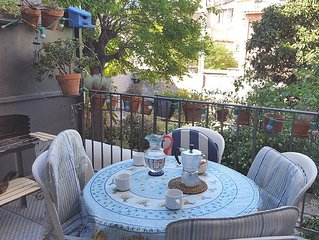 terrace house sleeps 4