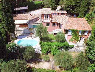 quiet villa in Cabris (French Riviera - Alpes Maritimes) - 6 people