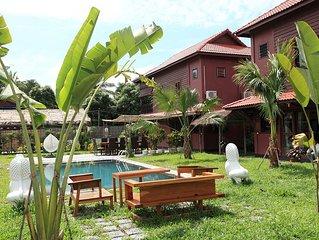 Terra Amata Villa - privatisation 8 personnes - villa 225m2 jardin piscine