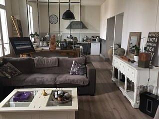 Beautiful 120m2 apartment with terrace and garden center but quiet