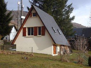 Joli Chalet Vallée de Campan avec vue superbe et tranquilité