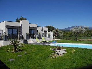 maison avec piscine proximite village