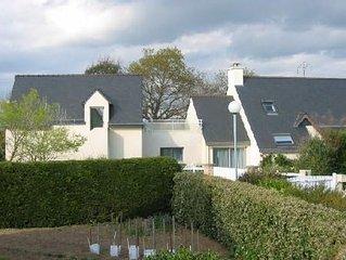 SARZEAU 56 PRESQU'ILE RHUYS Appart/Maison calme 400m plage - jardin - WIFI -