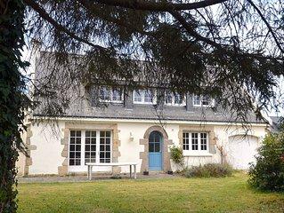 Grande  Maison familiale pres La Trinite sur Mer, jusqu'a 11 lits (13 avec sup)