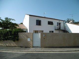 T2 de 35 m2 dans village calme a 10 mn des plages et du centre de Montpellier