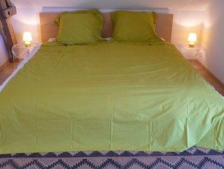 Bed in hamlet