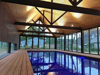 Cottage authentique de 2 chambres dans un domaine prive avec Piscine #Arg