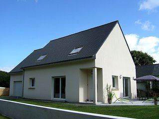 Jolie maison neuve sur presqu'ile de Crozon _ Wifi
