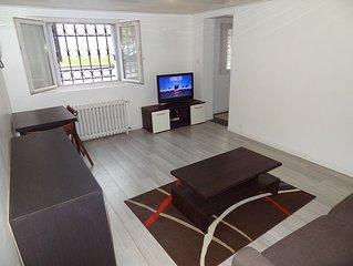 Grand F1 Centre Ville, Blv de Strasbourg, Baignoire/douche +Lave Linge