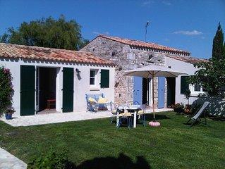 Maison à l'Ile d'Oléron, au calme en pleine nature