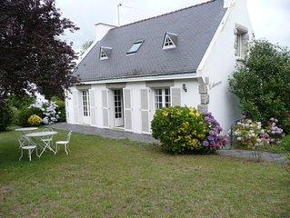 Maison de vacances à 100m de la mer située dans le Golfe du Morbihan(Baden )