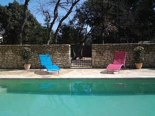 villa with pool 'La Cigale' in Provence Luberon, 4 people, 3 stars
