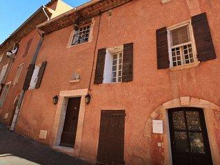 Au coeur du Village de Roussillon