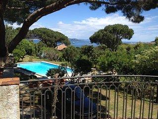 Loue villa 250m2 Saint Tropez vue sur mer