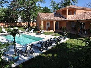 Villa Coloniale 12 pers - 300 m de la mer