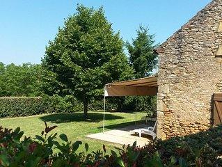 Gîte isolé à la campagne situé entre Cahors dans le lot  et Sarlat en Dordogne
