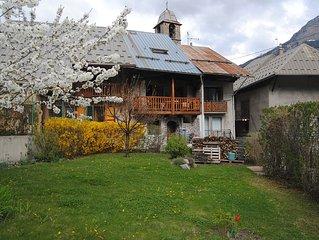 Maison de village avec jardin pres de Briancon