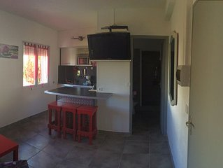 2 rooms quiet at 20 meters from the beautiful beach of Frontignan beach