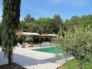 Charming cottage between Gordes and Roussillon fo
