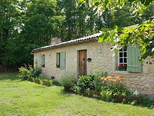 Maison de campagne du XVIIIe, entre forêt des Landes et châteaux du Sauternais.
