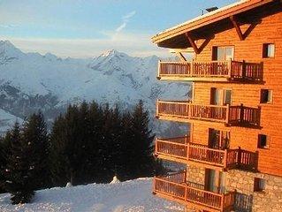 Residence de luxe : inoubliable - 'skis aux pieds' Piscine-Sauna-Hammam/Pcouvert