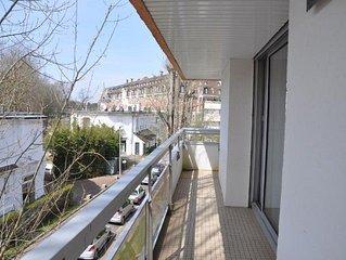 Large corner apartment of 48 sqm near Casino, 1 bedroom, sleeps 4