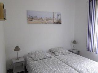 Maison au calme 3 ch, 6 personnes, 400 m de la plage, la Griere, 3 etoiles